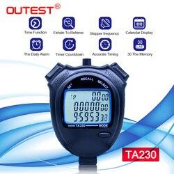 Sportowy stoper 3 rzędy 30 kanałów TA230 sekund licznik minutnik Athletic stoper|Timery|Narzędzia -