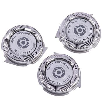 3 sztuk zestaw maszynka do golenia zapasowe ostrze głowice golarki dla SH50 HQ8 do golenia głowy kuter tanie i dobre opinie KuZHEN CN (pochodzenie) 3 pieces metals