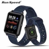 Smartwatch gts ip67 à prova dip67 água relógio inteligente masculino esportes monitor de freqüência cardíaca cor display feminino reloj inteligente para android/ios