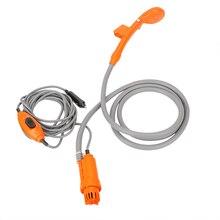 12V Auto Elektrische Dusche Kopf Rohr Rohr Kit Hochdruck Wasser Pistole Washer Waschen Reinigung Werkzeuge Off Road 4x4 Lkw Zubehör