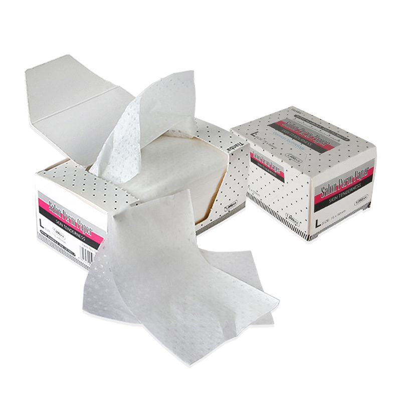 Electric Hair Perm Paper Absorbent Perming End Wraps Hair Curling Tissue Styling Accessories High Quality And Brand New
