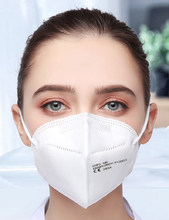100PCS FFP2 Mask 5 Layers KN95 Facial Face Mask Filtration Maske Dust Respirator Mouth Protect Mascarillas Reusable FFP3 Masque