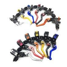 Alavancas da bomba de embreagem e do freio hidráulico de motocicleta, CNC, acessórios do cilindro mestre, 7/8 polegadas, pistão 12,7 mm, universal, para Honda, Yamaha