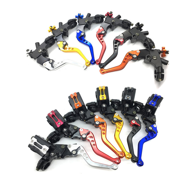 "CNC Motorcycle Brake Clutch Pump Lever Hydraulic Master Cylinder Accessories 7/8"" 12.7mm piston Universal for Honda Yamaha Moto"
