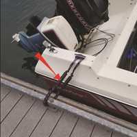 Heavy Duty Kayak Accessories Marine Mooring Rope Boat Bungee Dock Line Anchor Rope Bungee Cord Dockline Boats Kayak Accessories