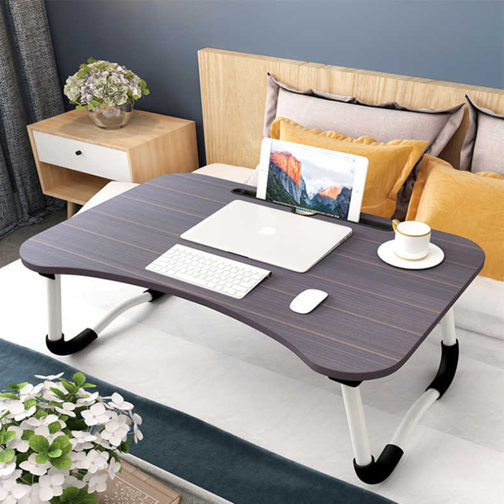 Bed Small Table Foldable Laptop Lazy To Do Table Student Bedroom Study Desk Dormitory ArtifactСкладной ноутбук Ленивый Стол