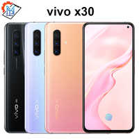 Original 5G vivo X30 mobile phone 6.44'' XDR Screen 8G 128G Celular 4350mAh 33W Fast Charge 64MP Triple Rear Camera 5G phone