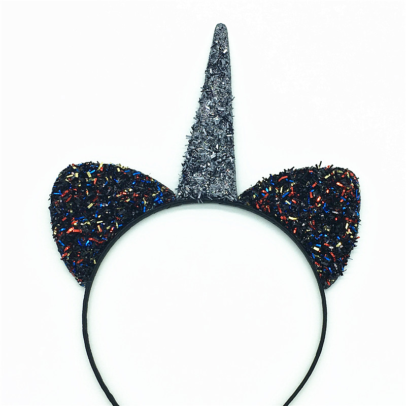 Wholesale Lots 10 pcs Gril/'s Cat Ear Headband Fluffy Hair Band Animal Party Gift