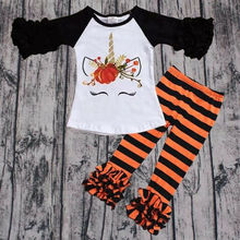 Tops Ripped Pants Cut Trousers 2pcs Outfits Set 2PCS Cute Baby Kids Girls Summer Clothes Sets Fashion Outfits 12 3 4 5 6  Years цены