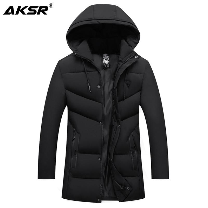 -30 Celsius Men's Winter Jacket Hooded Thick Warm Winter Jacket Coat For Men Large Size Windbreaker Parkas Coats Jackets Men