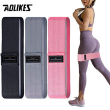 AOLIKES Fitness Rubber Band Elastic Yoga Resistance Bands Set Hip Circle Expander Bands Gym Fitness Booty Band Home Workout