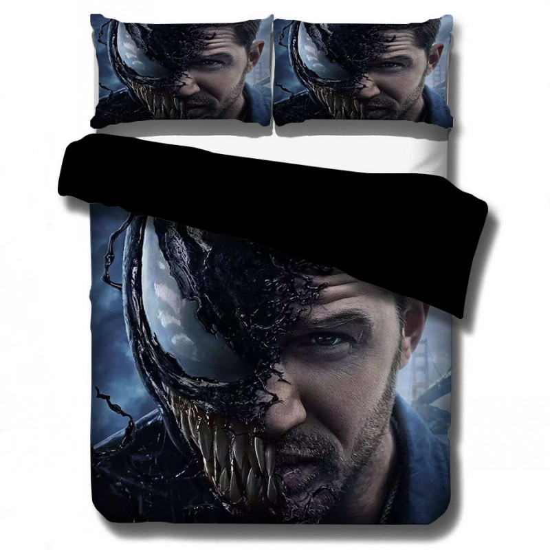 Marvel Super Heroes 3D Printing Bedding Deadpoo Comforter Bedding Sets Duvet Cover AU EU AU 12 Sizes Bedclothes Venom