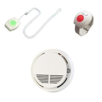 433Mhz bezprzewodowy przycisk alarmowy SOS czujnik dymu dla system alarmowy do domu tanie i dobre opinie new landing other Kontrola aplikacji wireless RTU5026