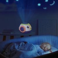 Proyector de luz de noche LED con cielo estrellado para niños, juguetes luminosos para dormir de Estrellas Múltiples, proyectores de juguete