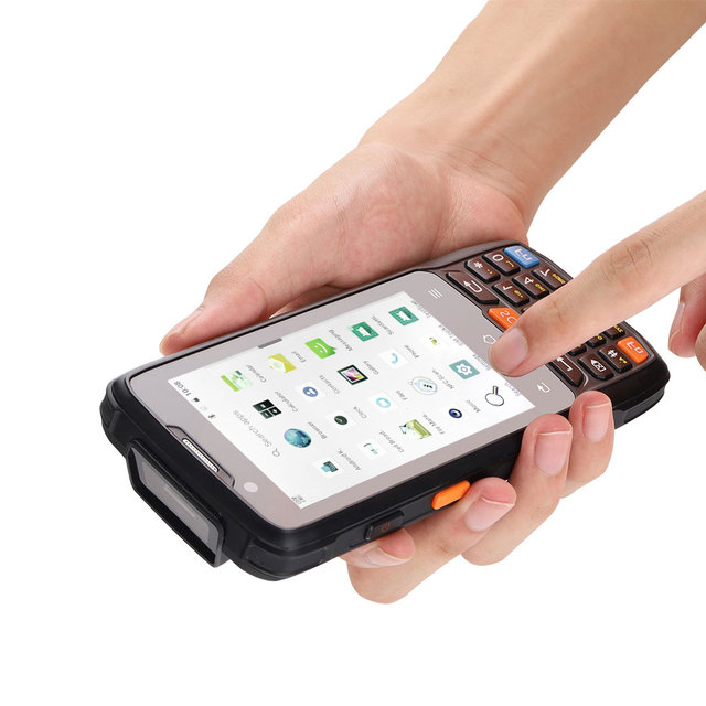 CARIBE-Scanner Portable, PDA, NFC, Bluetooth, téléphone Portable Android 2