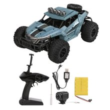 Camera Off-Road Vehicle Toys for ChildrenDM-1803 Electric 4 Wheel Drive Buggy Rock 1/16 Crawler RC Car Wifi FPV 0.3MP