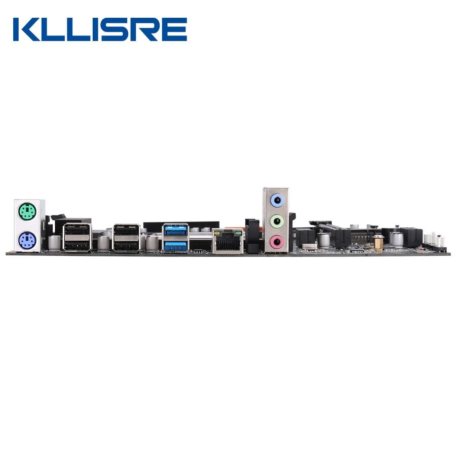 Kllisre X99 motherboard set with Xeon E5 2620 V3 LGA 2011-3 CPU 2pcs X 8GB =16GB 2666MHz DDR4 memory 4