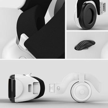 VR SHINECON G06E Mini VR Glasses 3D G 06E Glasses Virtual Reality Glasses VR Headset For Google cardboard with headphone 4