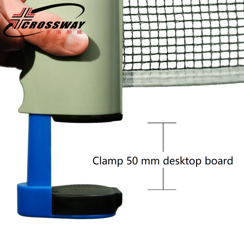 Professional Table Tennis Net Simple Portable Ping-pong Telescopic Good Material Grid Ping Pong Retractable Network Space Truss