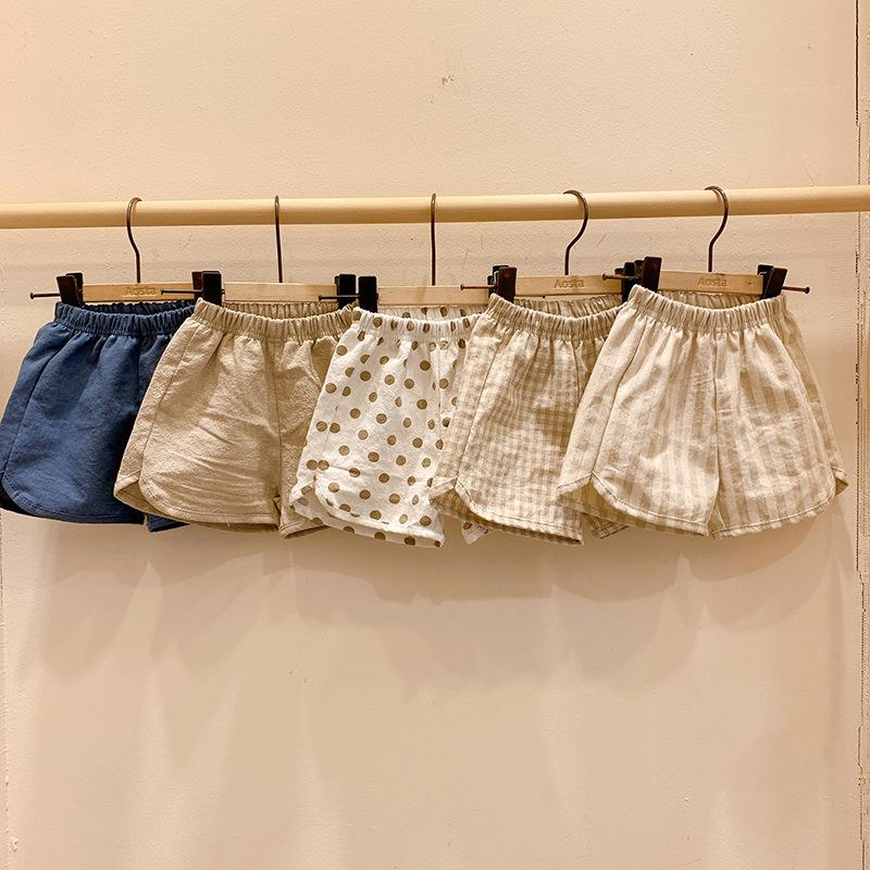 Kid Summer Casual Shorts Baby Bloomers 2021 New Toddler Boy Girl Cotton Shorts Kids Summer Trousers Infant Baby Pp Pants 0-3T