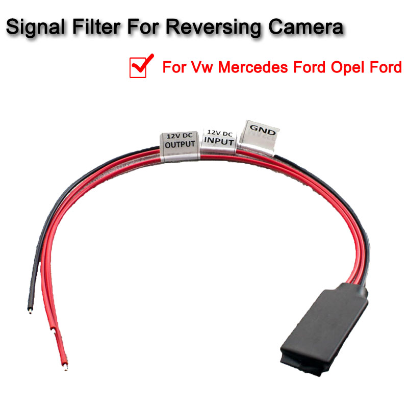 1 Pcs Signal Filter Reversing Camera Canbus Compatible For Vw Mercedes Ford Opel