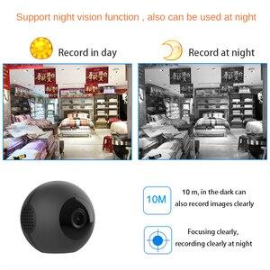 Image 5 - ボディ秘密小型マイクロビデオミニカメラ Wifi IP カムナイトビジョンモーションセンサーの Hd 小型 Microcamera ミニチュアカメラ