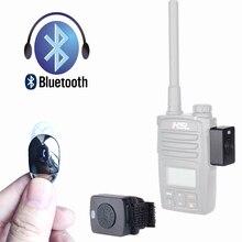 Walkie Talkie ชุดหูฟังบลูทูธ K/M ประเภท Mini หูฟังวิทยุแบบใช้มือถือไร้สายหูฟังสำหรับ Motorola Baofeng 888S UV5R