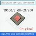 Ноутбук Core 2 Duo T9500 cpu 6M cache/2,6 GHz/800/двухъядерный процессор Socket 479 для ноутбука GM45/PM45