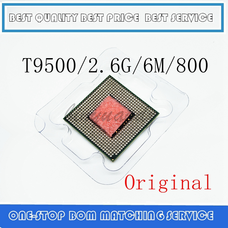 Laptop Core 2 Duo T9500 CPU 6M Cache/2.6GHz/800/Dual-Core Socket 479Laptop Processor For GM45/PM45