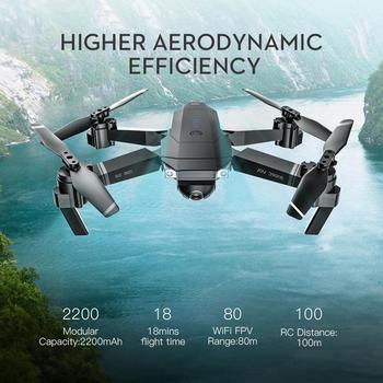 Dron RC de juguete plegable SG901 para niños con 4 K/1080 P...