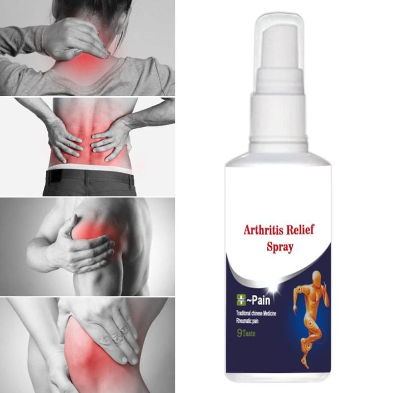 Joint Bone Spray Bones Ling Pain Relief Spray Rheumatism Arthritis Muscle Sprain Knee Waist Pain Back Shoulder Spray 60ml