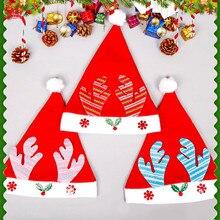 Sante красные зимние шапки для женщин с украшением, зимняя шапка для девочек, взрослых, праздничная, праздничная, женская шапка, набор gorras#3
