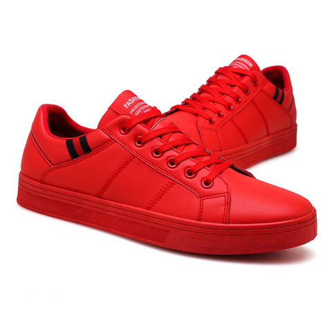 UNN New Designer Red Sneakers For Men Shoes Leather Walking 2020 Spring Luxury High Quality Casual Shoes Flats Mens Footwear Lahore