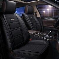 Auto Full coverage Seats Covers flax fiber car seat cover for nissan qashqai j10 ford focus 3 lada vesta peugeot 508 volvo s
