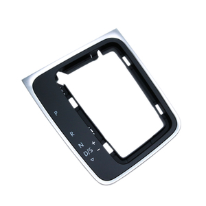 Image 3 - 5GG713203A DSG gear frame bracket Circle Gear Shift Knob Base Trim Circle automatic gear shift knob For Golf 7 7.5 Golf R