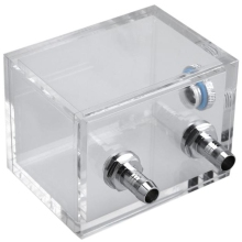 200Ml G1/4 Thread Port Acrylic Pc Water Cooling Tank For Computer System With Tube Connector Block
