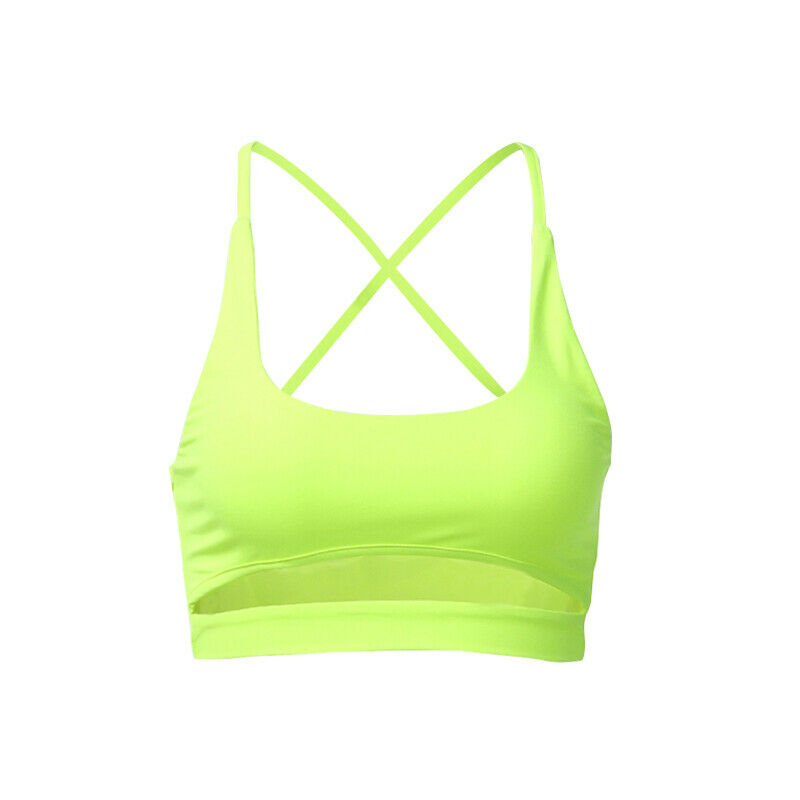 Summer Women Sexy Cut Out   Tank     Top   Vest Female Girls Casual Sleeveless Summer Crop   Top   Fluorescent Yellow Cami