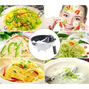 Image 4 - 9 In 1 Slicer Food Cutter Fruit Vegetable Chopper Grater Peeler With 7 Blades C63B