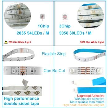 LED Strip Light Waterproof 5M 10M 15M RGB Controller 12V LED 5
