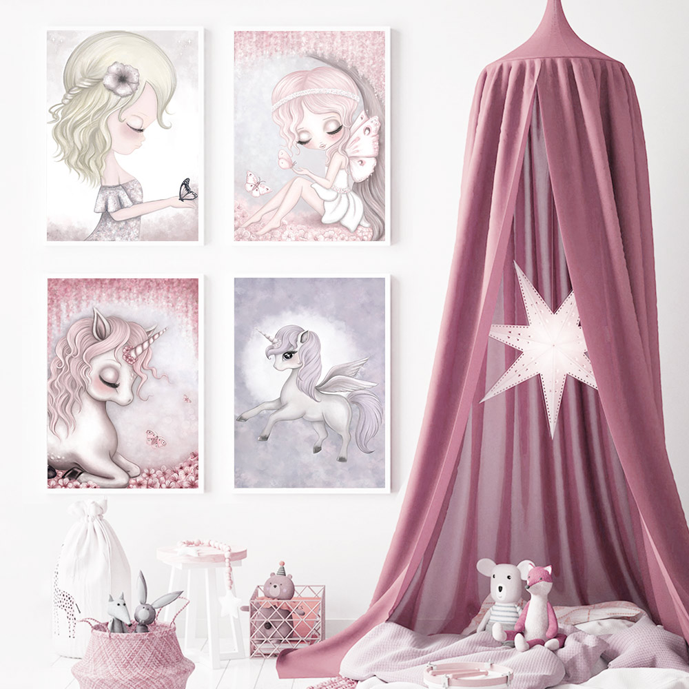 Baby Poster Nursery Posters Prints Pink