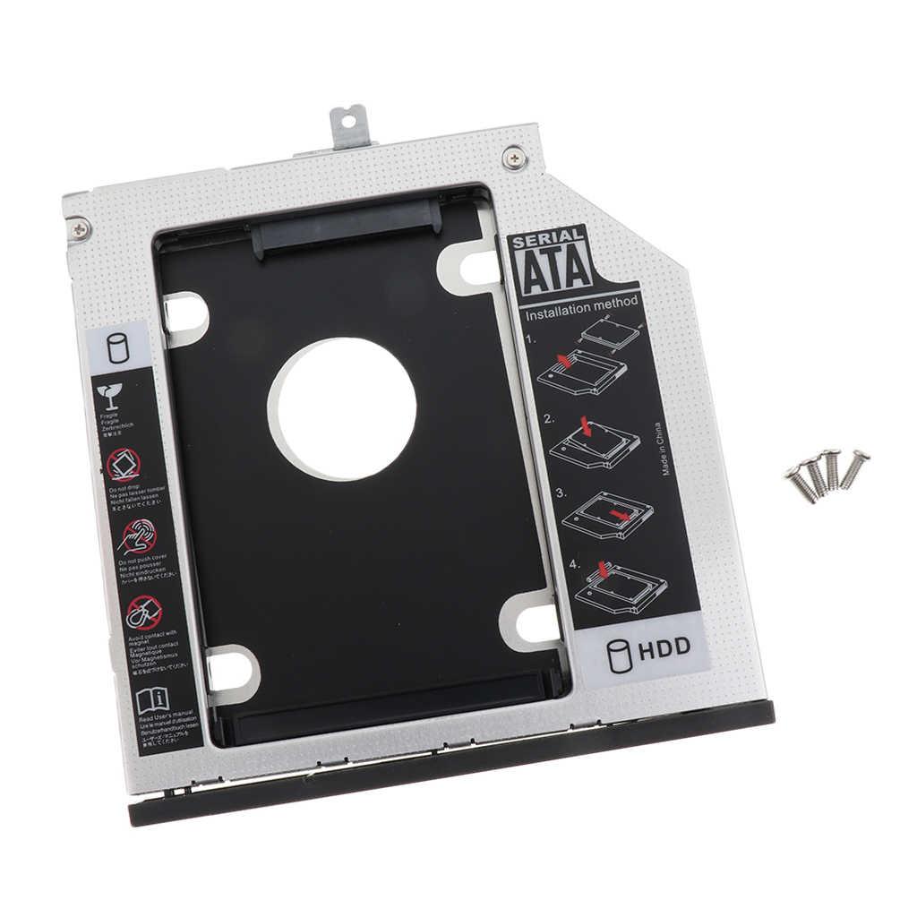 """2.5 """"SATA3 2nd הכונן הקשיח HDD SSD Caddy מגש עבור Thinkpad T440p T540p W540"""