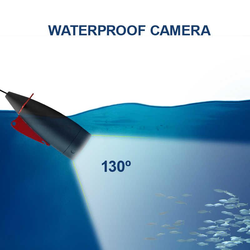Erchang 15M Cavo della Macchina Fotografica Fish Finder LED Bianco 4.3 ''Monitor HD 1000TVL Macchina Fotografica Subacquea Per La Pesca Nel Ghiaccio in inglese Russo