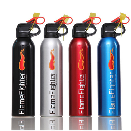 Car Fire Extinguisher Four Colors Car Mounted Dry Powder Extinguisher 4-Color 500G Small Flame Car Supplies Car Gift