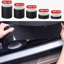 5D In Fibra di Carbonio Nano Colla Adesivo Auto Porta Bordo di Protezione Della Pellicola Della Protezione di Protezione Bagagliaio di Unauto Davanzale Del Portello Autoadesivo Completo Del Corpo Del Vinile accessorio