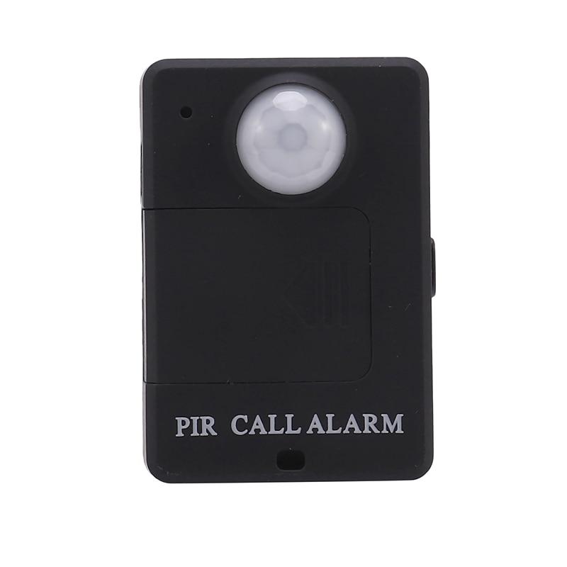 Motion Sensor Wireless Infrared GSM PIR Alarm Monitor Motion Detector Detection Home Anti-Theft System-EU Plug