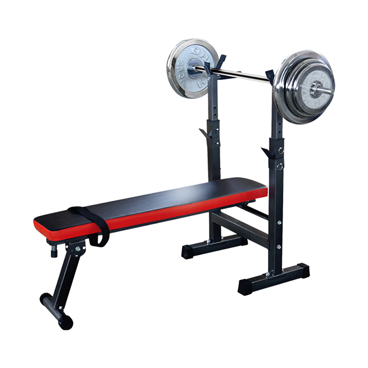 Multifunctional Weight Bench Training Bench Barbell Rack Household Gym Workout Dumbbell Fitness Exercise Equipment 1pc