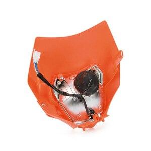 Image 2 - Motorfiets Koplamp Koplamp Kuip Met H4 Lamp Voor Ktm Exc Sx Xc Xcw Xcf Xcfw Sxf Smr Excf 125 150 250 300 350 450 530 Atv