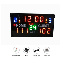 Ganxin Led Multi-purpose  Scoreboard basketball  electronic scoreboard competition High quality promotion in December