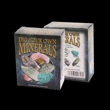 Medium Box-packed Ore Specimen Excavation Box Children's Creative Gifts Science Education Toys Souvenir Wholesale