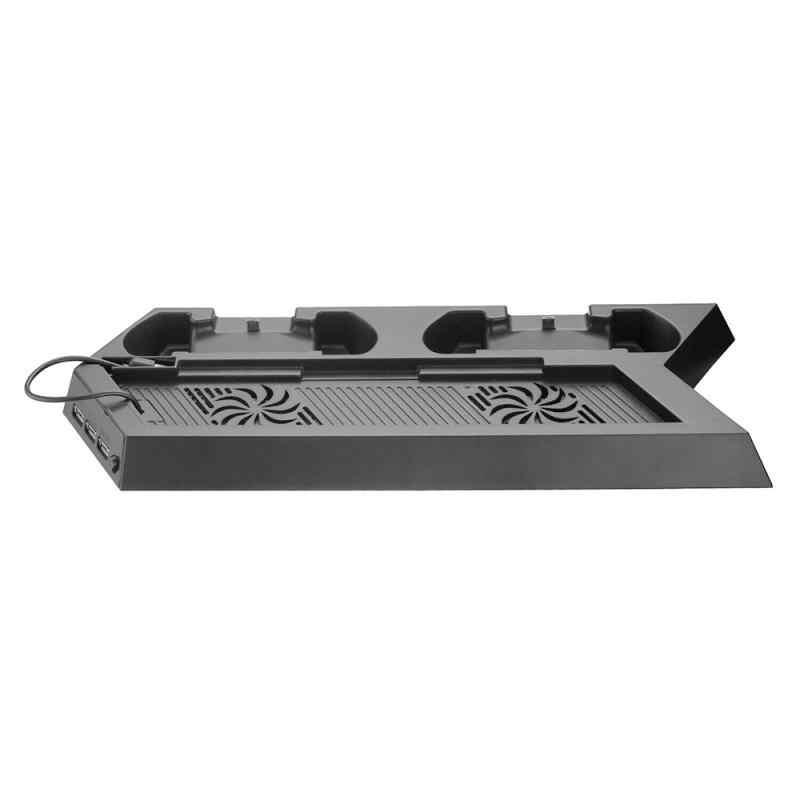 Pcのusb高品質PS4 の略垂直スタンド冷却ファンコントローラ充電ステーションプレイステーション 4